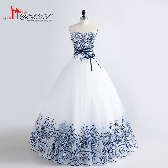 2017 New Arrival Custom Made Evening Prom Dresses Extra Puffy ...
