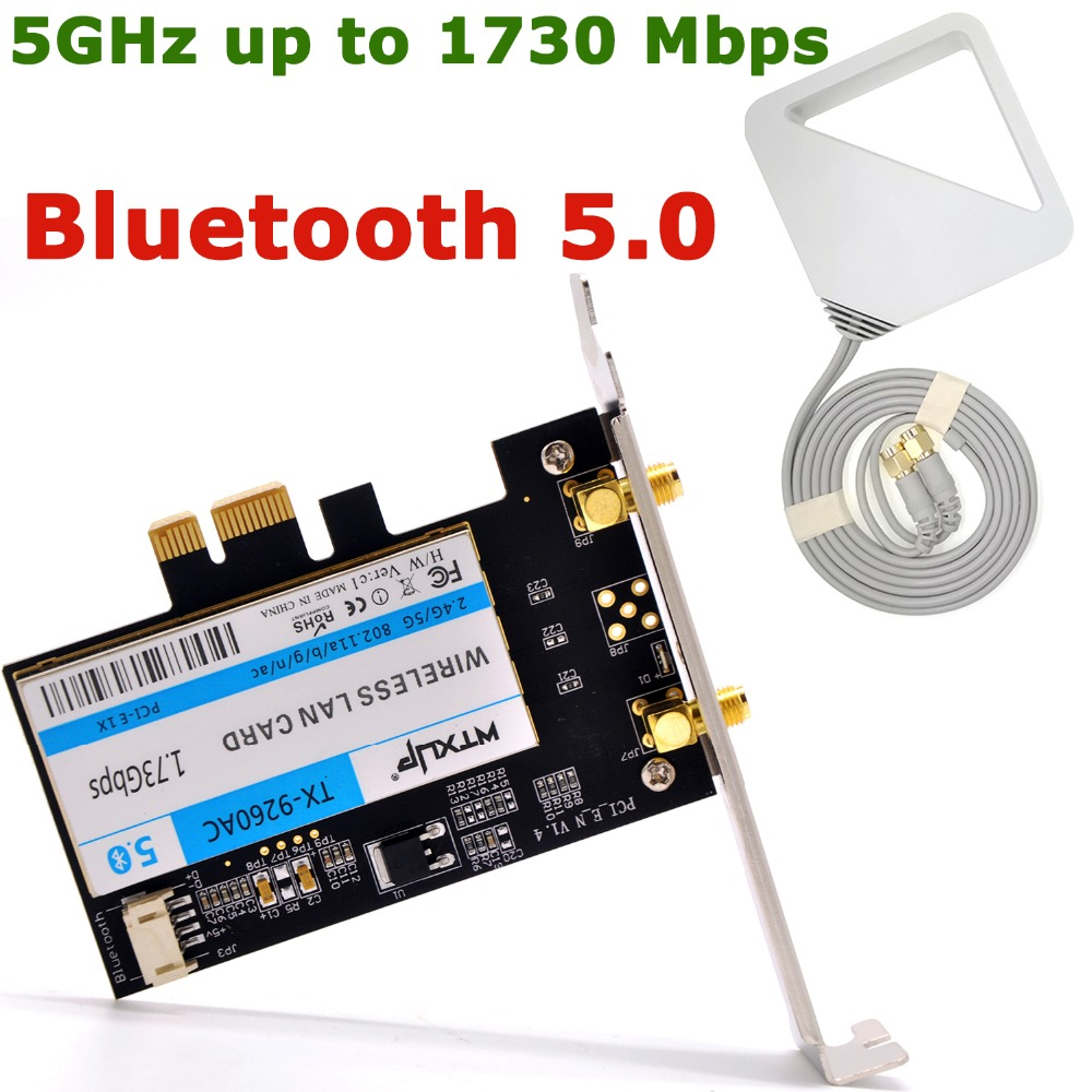 HP 9260 IEEE 802.11ac Bluetooth 5.0 m.2 Wi-Fi//Bluetooth Combo Adapter