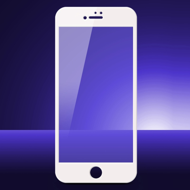 <font><b>DEVIA</b></font> for iPhone 7 Plus 0.18mm Anti-blue-ray <font><b>Tempered</b></font> <font><b>Glass</b></font> Screen Protector <font><b>Full</b></font> <font><b>Cover</b></font> Film for iPhone 7 Plus 5.5'' Arc Edges