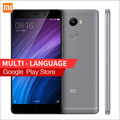 "Original Xiaomi Redmi 4 Mobile Phone 2GB RAM 16GB ROM Snapdragon 430 4100mAh Battery Fingerprint ID 5.0""13MP Camera xaomi redmi4"