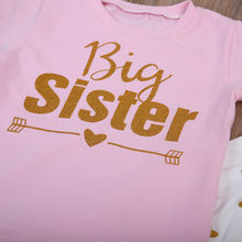 Family Matching Big sister little sister Newborn Baby Kids Girls Romper Pants Outfits Clothes