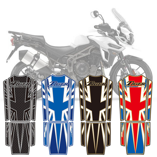 915f6146 New 3D Motorcycle Tank Pad Protector Decal Sticker Case Tankp Stickers For  Triumph Explorer 1200 2012 2017 2013 2014 2015 2016