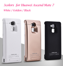 6800mAh Charger case for Huawei Ascend Mate 7 Portable Ultra Thin Backshell wireless Power Case External Battery power bank
