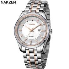 2017 Hot NAKZEN Switzerland Import Movement Quartz Watch Men's Famous Brand Gentleman Luxury Business Men's Sports Watch