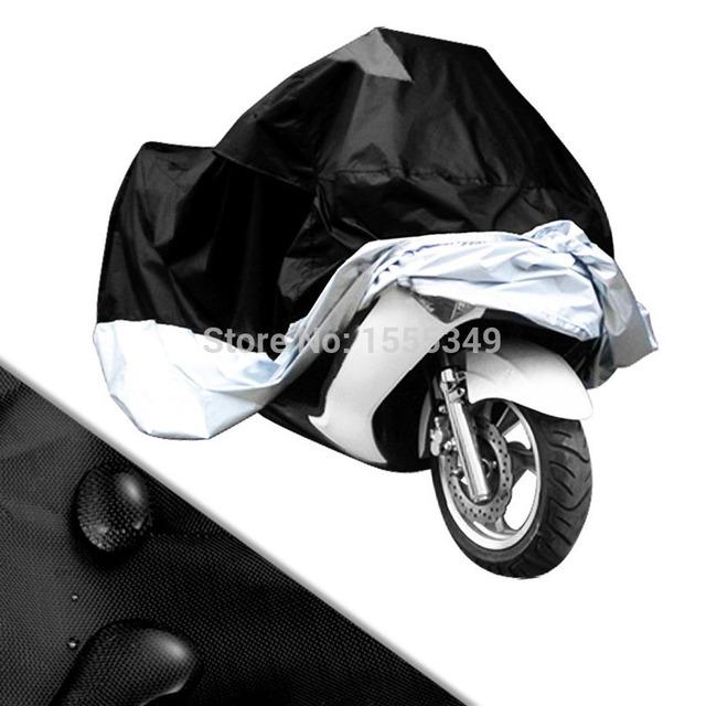Cubierta de la motocicleta moto scooter cubierta impermeable prevención lluvia uv polvo al polvo para ducati honda yamaha