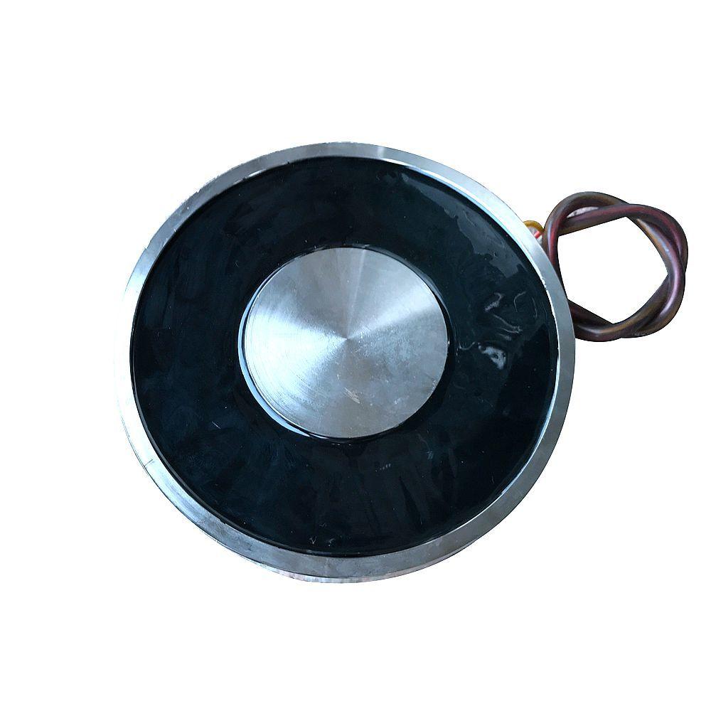 YJ 240/80 保持電気吸盤電磁石磁石 Dc 12 V 24 V 吸盤円筒 1500 キロ吸引プレート中国  グループ上の 家のリフォーム からの 磁気材料 の中 2