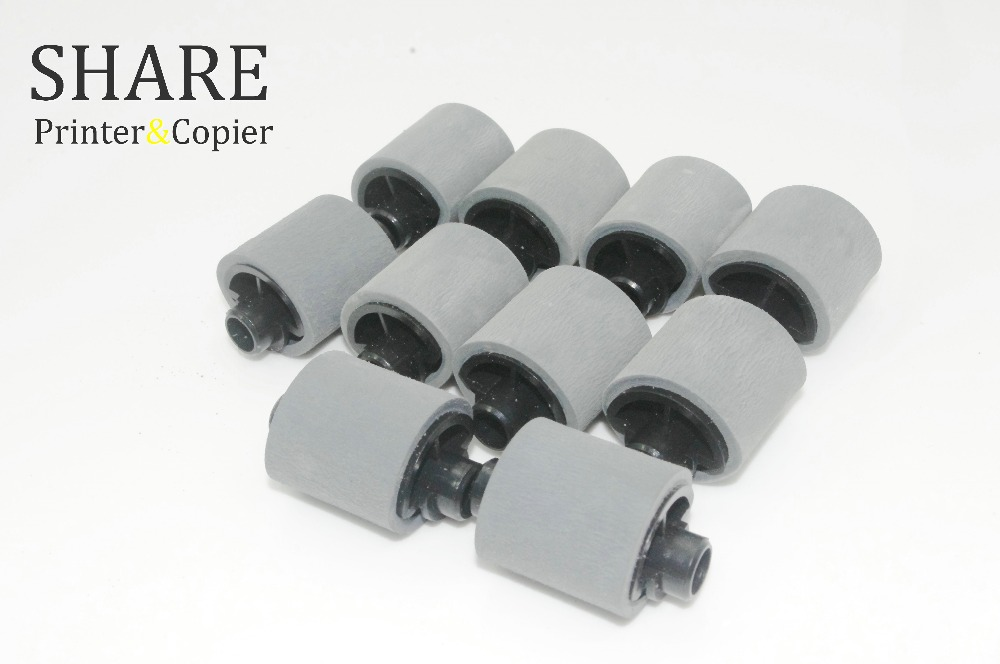 10 X JC72-01231A JC61-00587A pick up roller for samsung ML1510 ML1710 1740 scx 4100 4200/4300/565p/560/4016/4216/560R/xerox3119/ heat upper pressure roller for samsung scx 4100 scx 4200 scx 4300 scx 4100 4300 4200upper fuser roller on sale