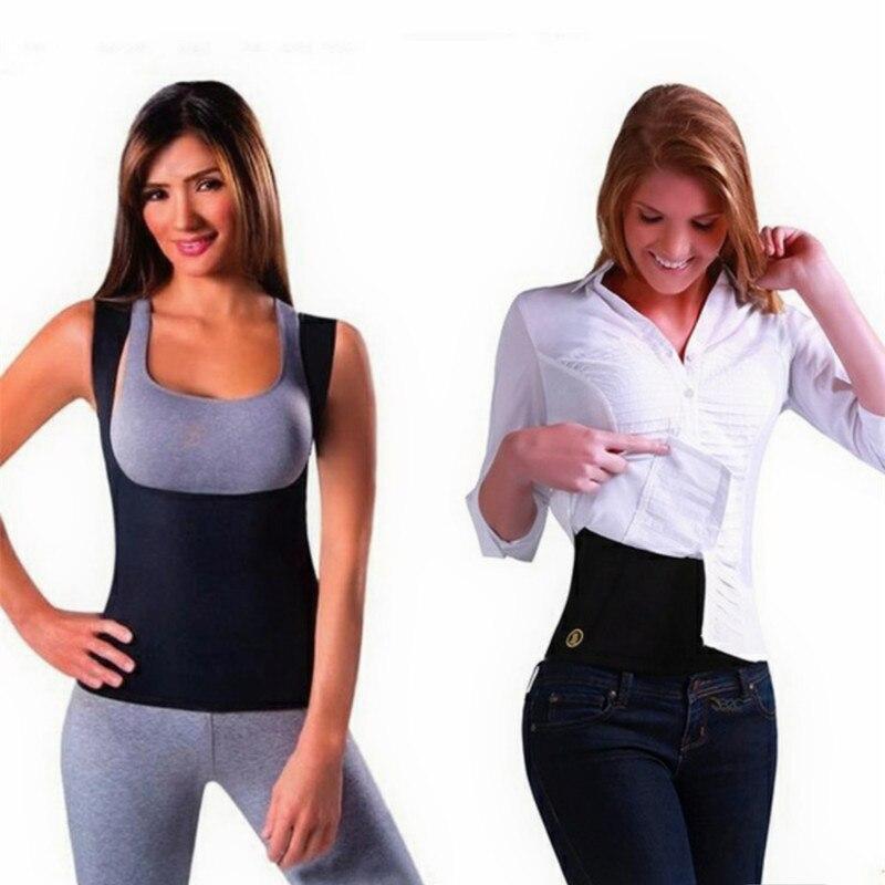 Neopreno mujeres cuidado de los senos abdomen fat burning body ...