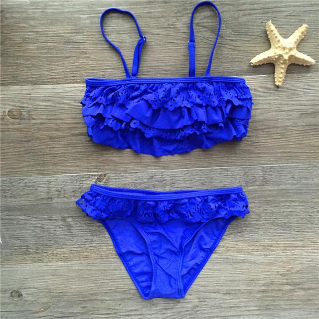 Baby Girl Ruffled Bikini