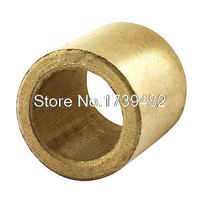 Oil Impregnated Sintered Bronze Bushing 14mm Bore x 20mm OD x 28mm LongOil Impregnated Sintered Bronze Bushing 14mm Bore x 20mm OD x 28mm Long