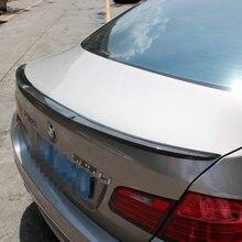 M4 Стиль углеродного волокна задний Багажник крыло украшение