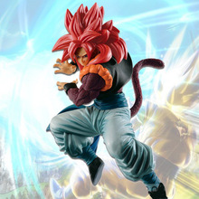 19cm Dragon Ball GT Ultra Instinct Figure goku Action Figures PVC Collectible Model Toy Goku Vegeta Combine Doll