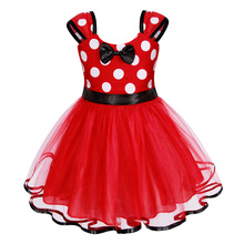 AmzBarley Baby Girls tutu Dress Sleeveless Dot princess Toddler girls Bowknot Lace Party Outfit Ball Gown for 1-6 years
