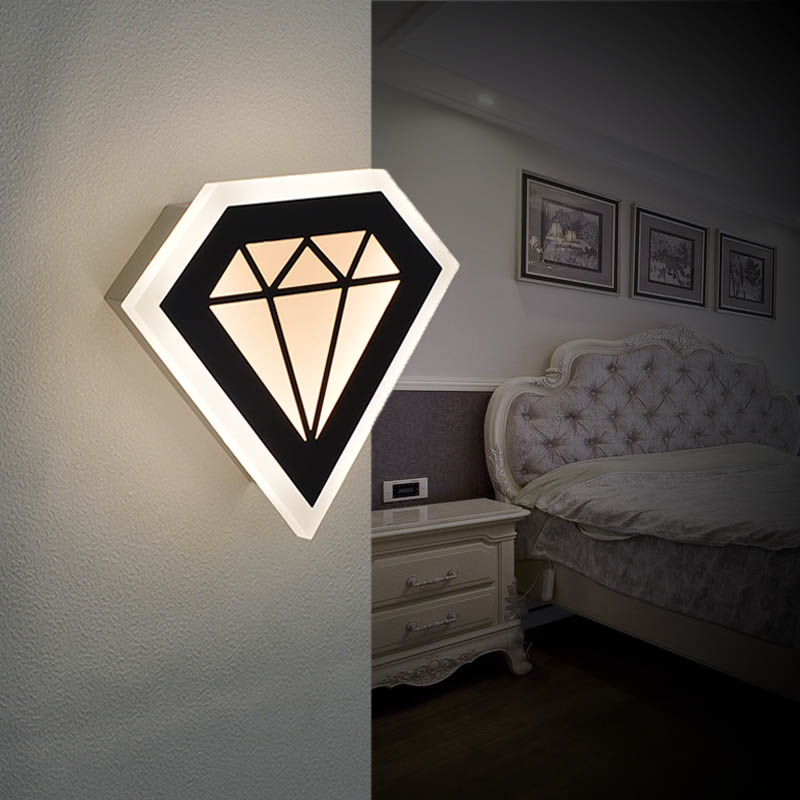 8 5w modern led sconce wall lights lights for bedroom