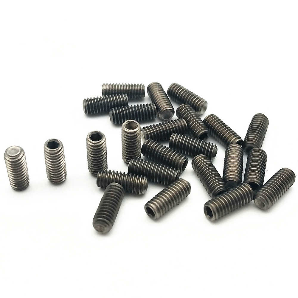 12Pcs M3 x 15 Titanium Ti Socket Cap Head Bolts Allen Hex Screw Aerospace Grade