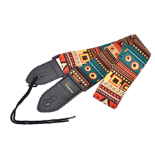 Adjustable Auto Colorful Pattern Comfortable Strap Guitar Parts for Bass Mantuolin Accessory