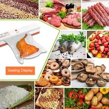 TintonLife 220V/110V Household Food Vacuum Sealer Packaging Machine Film Sealer Vacuum Packer Including 15Pcs Bags