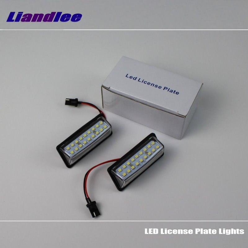 Liandlee для Infiniti JX35 / QX60 / QX56 / QX80 / LED автомобилей номерных знаков свет / количество кадров лампы / высокое качество светодиодные фонари