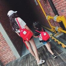 Осень 2017 г. Новинка зимы Лидер продаж модные женские туфли женские повседневные школьников молнии холст Сумка простые мягкие сумки рюкзаки