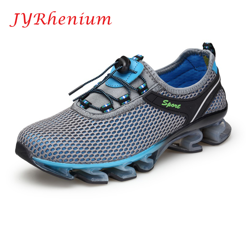 JYRhenium Super Cool Breathable Running Shoes Men Sneakers Bounce Summer Outdoor Sport Shoes Professional Training Shoes