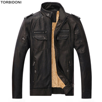 Locomotive Leather Jacket Men Fashion Stand Collar Big 5XL Motorcycle Brand PU Leather Jacket Jaqueta de Couro Slim Fit Overcoat