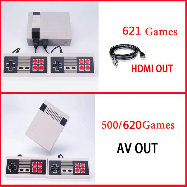 Myohya 8 Bits Portable Mini Video game Classic Retro Gaming Consoles Handheld Consola De Videojuegos Built-in 620 games