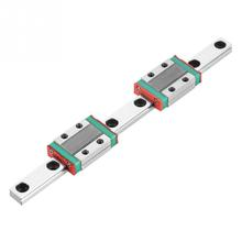 MGN9B 150mm Length Linear Slide Rail 9mm Width Linear Guide Rail with 2pcs MGN9B Linear Rail Block Carriage New Arrival high precision 20mm linear guide rail sets 1pcstrh20 l 1300mm linear rail 2pcs trh20a carriages slide block for cnc parts