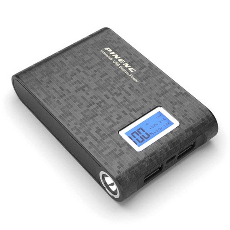 bilder für Original pineng pn-913 10000 mah energienbank 18650 tragbare externe batterie wiederaufladbare ladegerät power batterie externe
