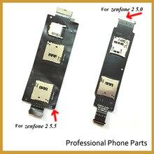 100% New Original Sim Card Socket Slot Holder Tray Replacement Parts For ASUS Zenfone 2 ZE550ML ZE551ML ZE500CL High Quality