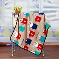 Summer 100% Cotton Single Layer Baby Towel Newborn Blanket Air Conditioning Blanket Baby Swaddle Infant Wrap 100*75cm