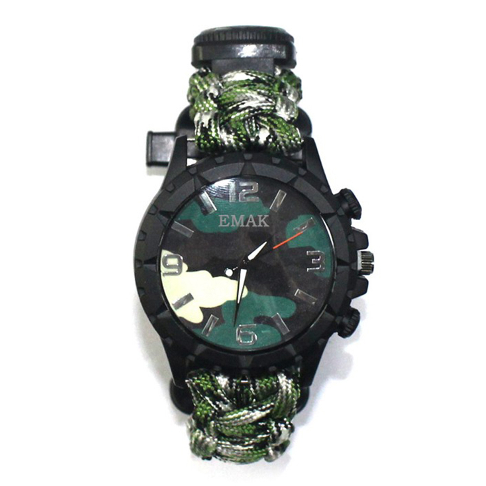 Men's Sports Watch Traveling  Survival  Whistle  Mountaineering Watch 2