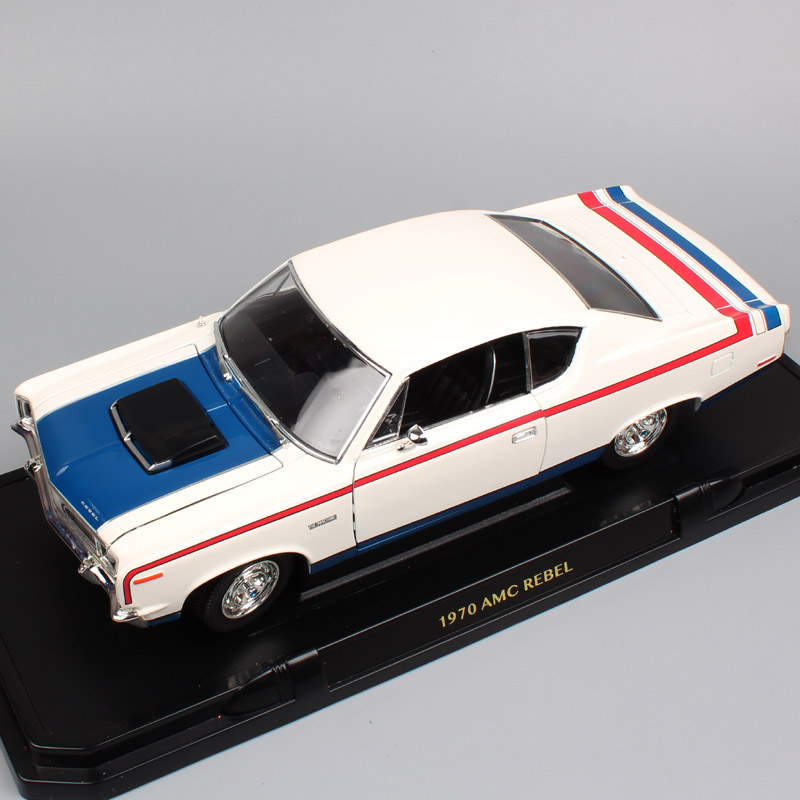 1:18 Scale old classic Road signature 1970 Amc Rambler Rebel the machine car diecast auto sedan model toy gifts for collectibles туфли old signature old signature ol009amajid0