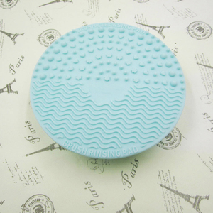Image 4 - 1pcs Silicone Makeup Brush Cleansing Pad Palette Brush Cleaner Cleaning Mat Washing Scrubber Pad Cosmetic Make Up Cleaner Tools