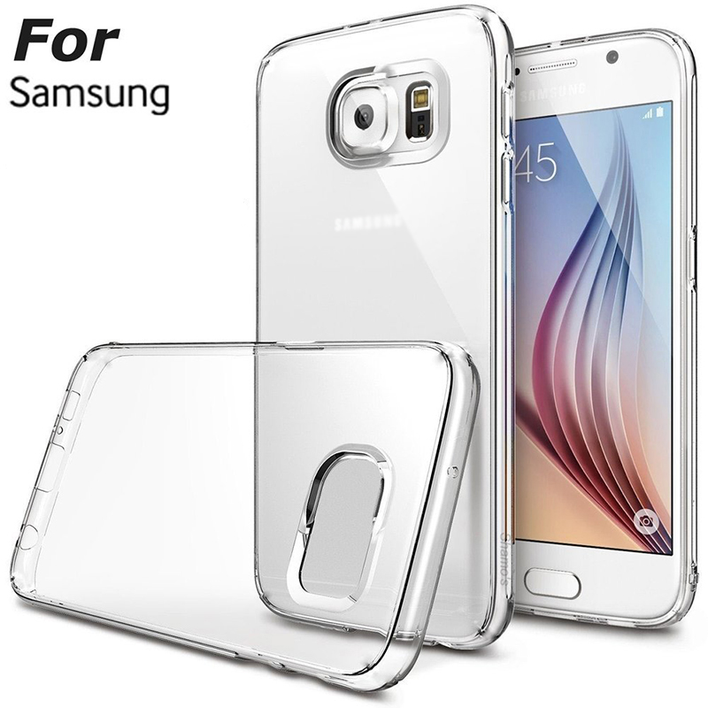 0 3mm Ultra Thin Clear Transparent Soft Case For Samsung Galaxy S3 S4 S5 S6 S7
