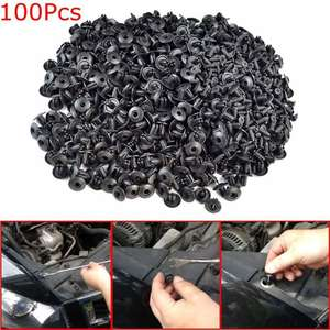 Rivet Screw-Clip Fender-Liner Door-Panel Car-Fastener Universal for All-Car 100pcs Mixed