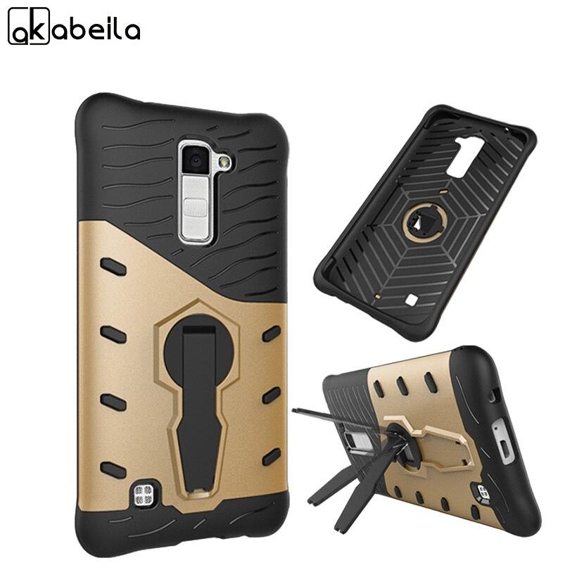 AKABEILA <font><b>Phone</b></font> <font><b>Case</b></font> For LG <font><b>K10</b></font> Cover LTE K430 M2 F670 Q10 K410 K430DS K420N F670L F670S Covers Silicone PC Armor Shell Hood Bags
