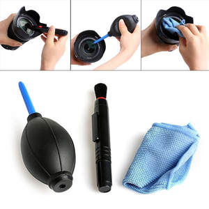 Camera-Clean-Kit Cleaner Blower Pump-Lens Cleaning-Cloth-Accessories Keyboard-Screen