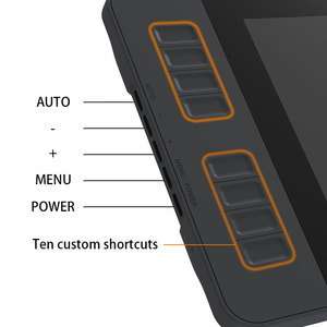 Image 2 - GAOMON PD1161 ips HD графический планшет для рисования с экраном графический монитор ручка дисплей с 8 клавиши быстрого доступа и 8192 уровни нажатия без батареи ручка