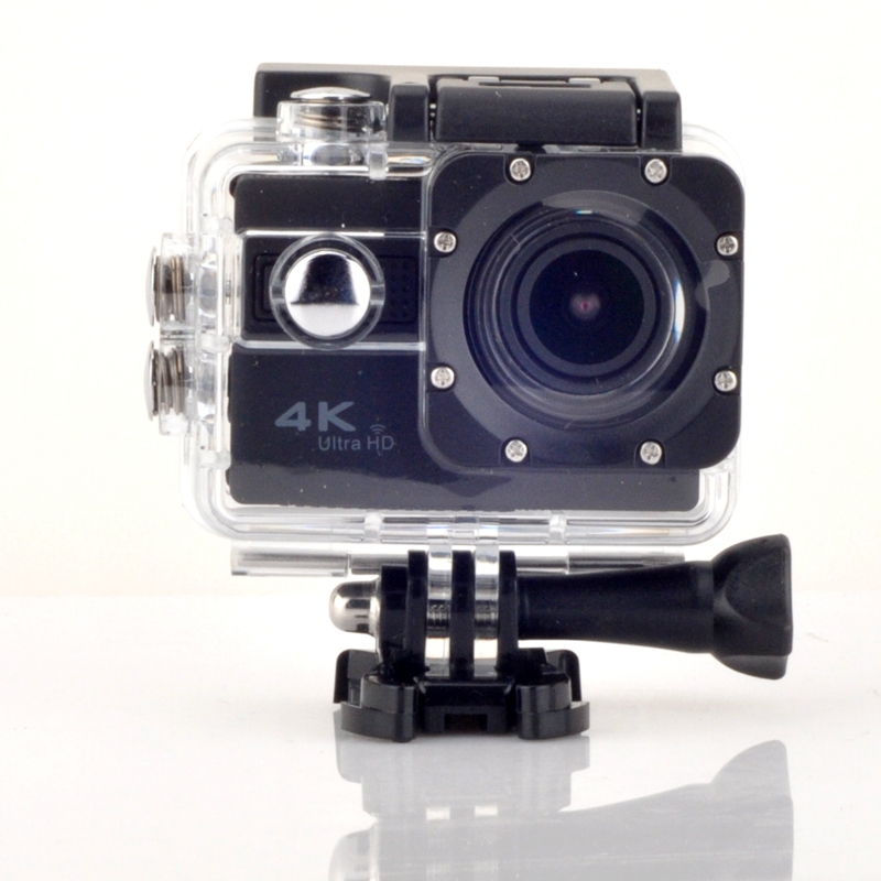 ФОТО 2016 4K F68 Voice Features Camera with Wifi 2 inch Sport Camcorders Mini Waterproof Sports HD DV+Exter Bag+battery free shiping