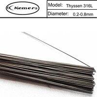 1KG Pack Thyssen 316L Laser Welding Wire For Welders 0 8 1 0 1 2 2