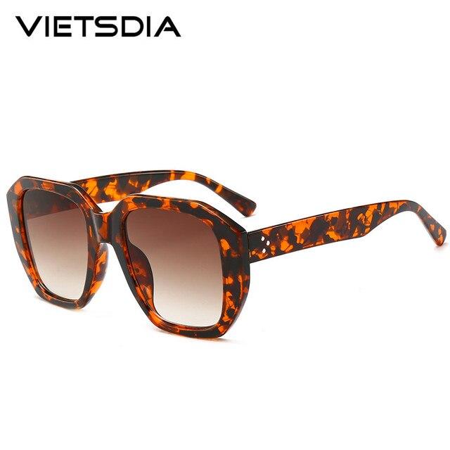 6ab5a8235f 2019 New Fashion Luxury Brand Designer Kim Kardashian Sunglasses Women  Retro Polygon Big Frame Shades Sun