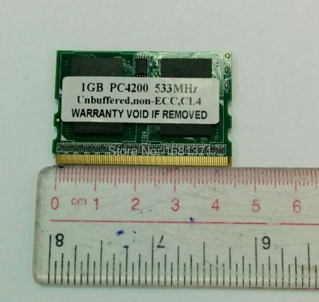 Mini Memory 1 Gb 2gb DDR2 533MHz 172 Pin Micro DIMM Second
