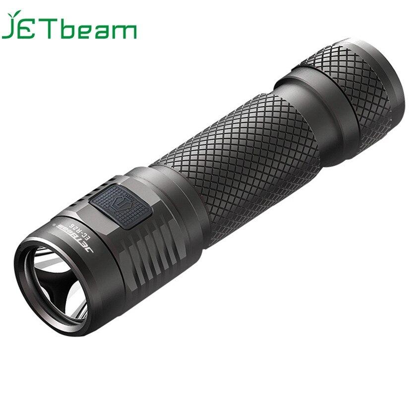 ФОТО Super JETbeam EC-R26 Cree XP-L 1080Lumens Rechargeable Waterproof LED Flashlight 170130