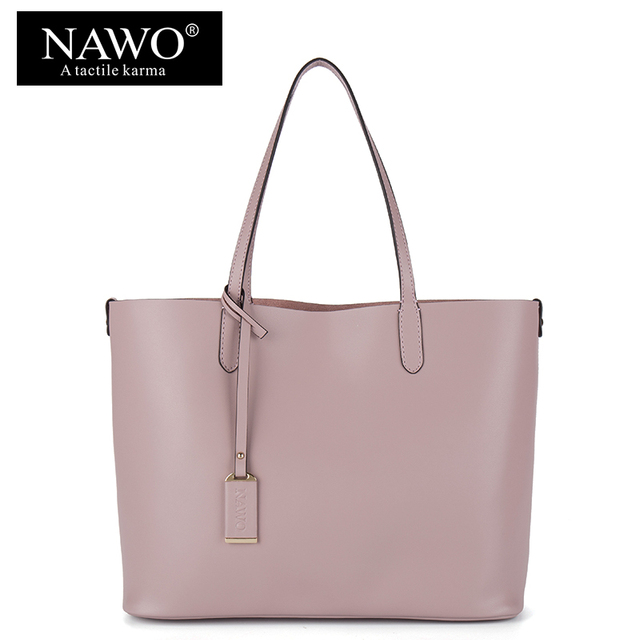 3478fc3a618c NAWO Red Casual Women Tote Bags Large Capacity Leather Handbags New Fashion  Famous Designer Brand Ladies shoulder Shopping Bags
