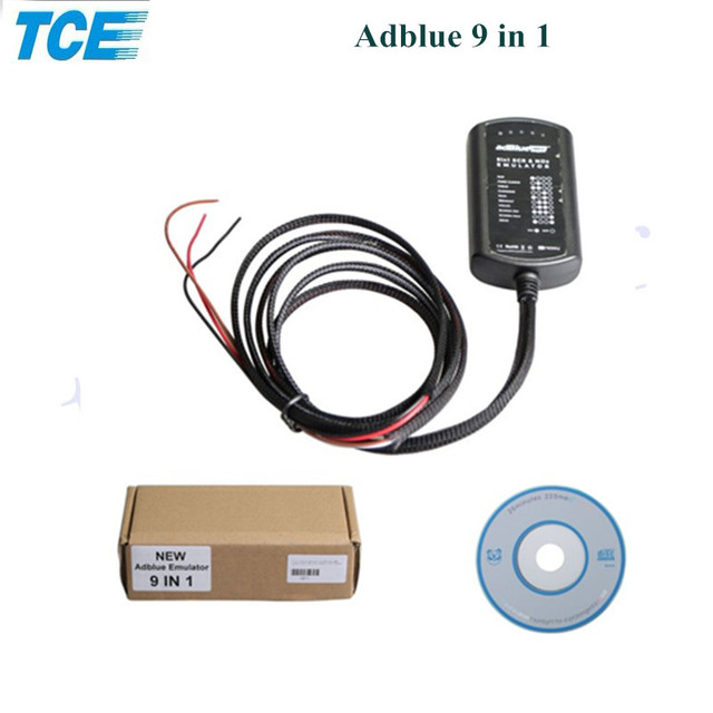 US $16 99 |2018 Hot Selling Adblue 9in1 Adblue Emulation Box 9 in 1 NOT ANY  SOFTWARE 9 in1 Universal Adblue Emulator For 9 Types Trucks-in Car