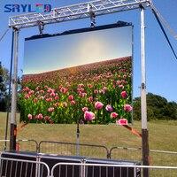 Открытый P4.81 Аренда 500x500 мм литья Алюминий SMD RGB светодио дный видео Дисплей шкаф (P3.91/P5.95/P6.25 доступны)