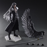 Paly Play Arts Kai Final Fantasy VII 7 Sephiroth PVC Action Figure Collectible Model Toy Free Shipping