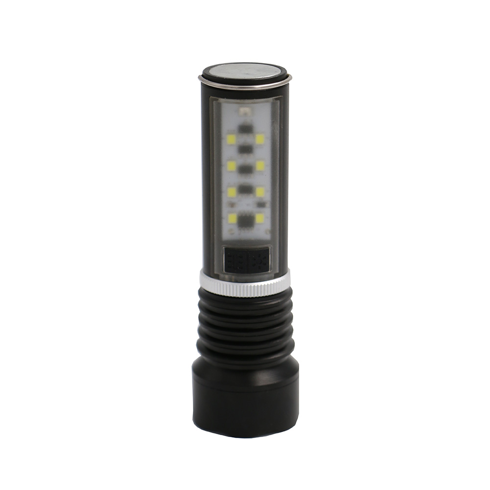 Online buy wholesale tactical flashlight multifunctional from portable new xpe led 8led tactical flashlight 2 in 1 multifunctional led lampe torche parisarafo Gallery