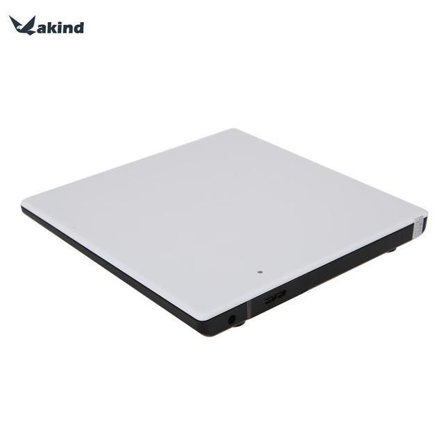 Suporte CD-ROM DVD-ROM CD-R/RW Exteranal USB3.0 SATA DVD RW ODD Dispositivo Portátil Slim Drive Óptico para Laptop Mac alta Qualidade