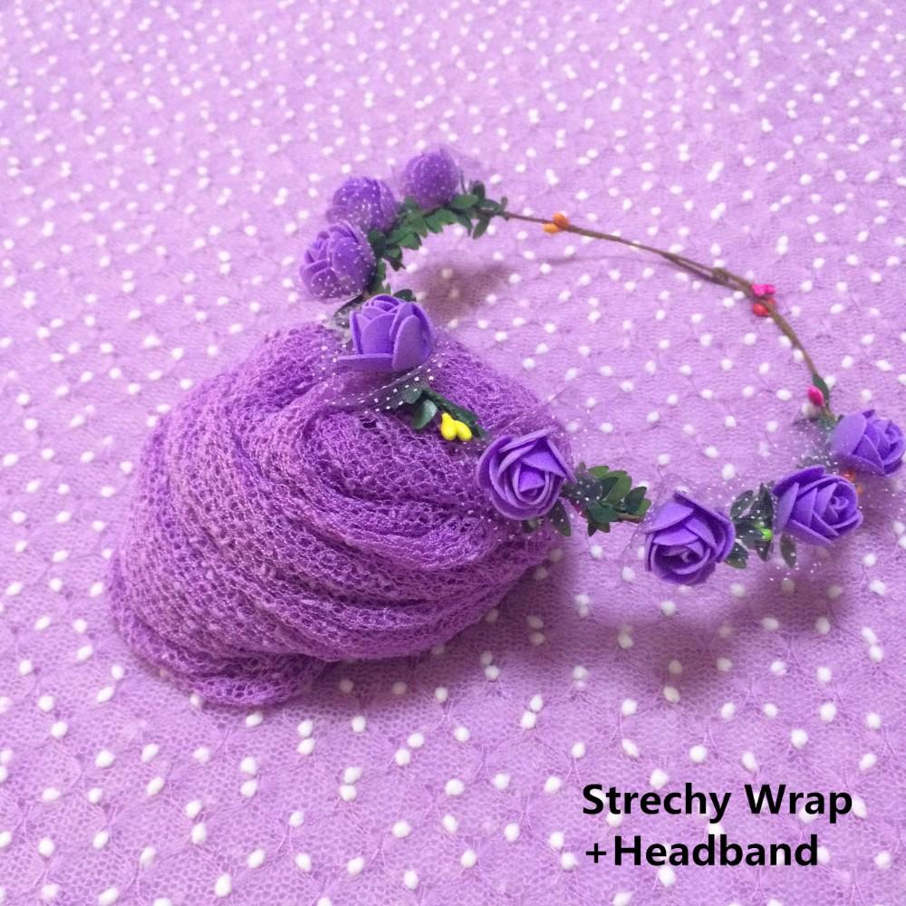 Strechy Wrap+Headband
